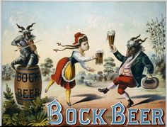 1882 Jan 24 Bock Beer Lithograph by carlylehold, via Flickr