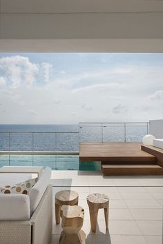 Minimalistic Spanish Home Offers Stunning Views of the Sea