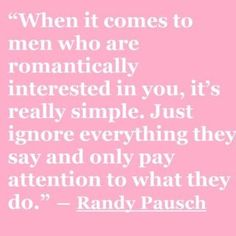 "Randy Pausch - if you haven't read ""The Last Lecture"", you're missing out on something amazing!"