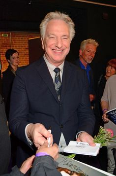 Die Gaertnerin von Versailles Premiere at Kino Kulturbrauerei.Featuring: Alan Rickman. Where: Berlin, Germany. When: 22 Apr 2015.