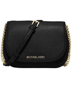 MICHAEL Michael Kors Bedford Small Crossbody Saddle Bag - Designer Handbags - Handbags & Accessories - Macy's