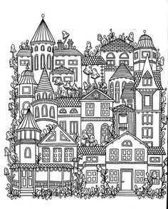 Colouring...townhouses