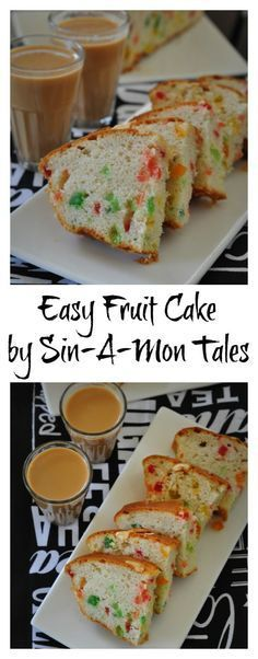 Recipe of a tutty fruity cake from my childhood. A cake that kind of kindled my love for baking