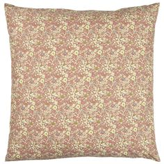 This bright and pretty ditsy floral print cushion cover from Ib Laursen is perfect for bringing some interest and depth into the room. This cushion Floral Cushions, Printed Cushions, Ditsy Floral, Purple Flowers, Floral Prints, Colours, Deco, Cover, Interior