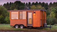 This is the Vista GO Tiny House on Wheels. It's designed and built by Escape Vista in Wisconsin. Please enjoy, learn more, and re-share below. Vista GO Tiny House on Whee… Tiny House Village, Tiny Houses For Sale, Tiny House On Wheels, Small Houses, Tyni House, Tiny House Living, Small Living, House Floor, Living Spaces
