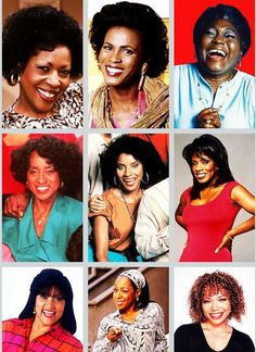 Black actresses...the beautiful black women where the moms on the sitcoms that we all watched no matter skin color!!!!