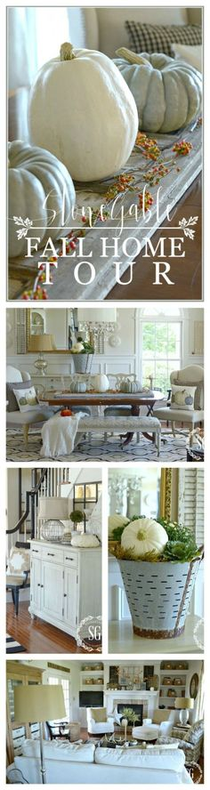 FALL HOME TOUR Lots of ideas and inspiration for a fall-filled home!