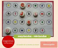 Autismus Arbeitsmaterial: Buchstaben erkennen 1