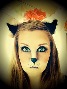 Halloween Fox Makeup