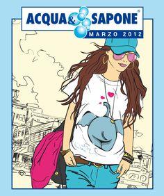 Copertina volantino di Marzo 2012 Girl Fashion, My Style, Amanda, Anime, Image, Men's, Moda Masculina, Map Of America, Nail Salon Decor