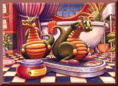 Cute Dragons - Dragon Dialogues