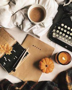 Flatlay Inspiration · via Custom Scene · It's almost November. Autumn Cozy, Fall Winter, Autumn Coffee, Winter Christmas, Imagenes Mary Kay, Fall Inspiration, Journal Inspiration, Photo Deco, Autumn Aesthetic