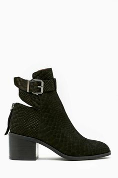 Jeffrey Campbell Donner Buckled Boot