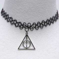 Harry Potter Always Elastic Tattoo Choker Necklace