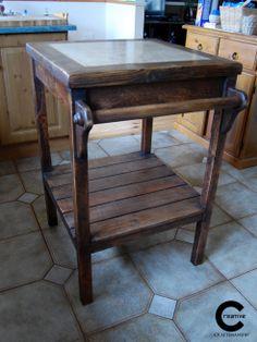 Rustic Kitchen Island, Kitchen Sale, Handmade Wooden, Pallets, Entryway Tables, Creative, Interior, Furniture, Home Decor