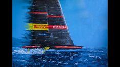 Sports Painting, Original Paintings, Original Art, Sailboat, Abstract Expressionism, Buy Art, Saatchi Art, Sailing, Opera