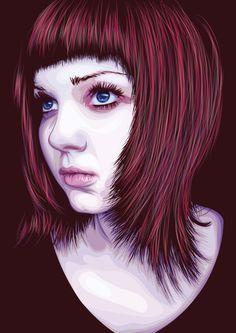 Vector portrait!