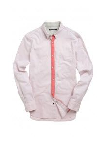 Fluro Oxford Shirt French Connection woven linen #shirt is light enough for the height of #summer.