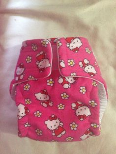 Hello Kitty Cloth Diaper Pretty Kitty, Pretty Cats, Hello Kitty Baby, Hello Kitty Collection, Boy Images, Cloth Diapers, Little People, Future Baby, Baby Things