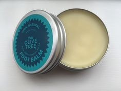 Minty Foot Balm by Little Olive Tree