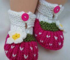 Zapatitos de bebé tejidos - Imagui