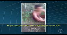 Homem é agredido e tem cova pronta por traficantes, diz polícia; vídeo