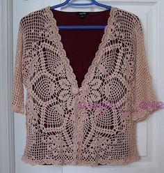 Irish crochet &: CROCHET BLOUSE ... БЛУЗА                                                                                                                                                                                 More