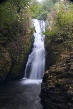 Bridal Veil Falls, Oregon #hikelandia #oregon #hikeoregon#oregonhikes #oregonwaterfalls