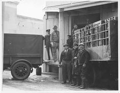 Photograph of U. Food Administration Records Arriving at the National Archives Building, General Services Administration, Still Picture, Photo Maps, Educational Programs, National Archives, The Past, History, Building, Pictures