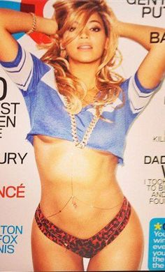 Beyonce being every persons dream on the cover of GQ