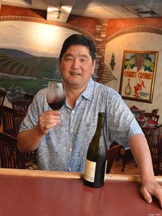 Chuck Furuya, master sommelier and partner, D.K. Restaurants, will reopen Vino Italian Tapas & Wine Bar in a new space at Honolulu's Waterfront Plaza, also known as Restaurant Row.