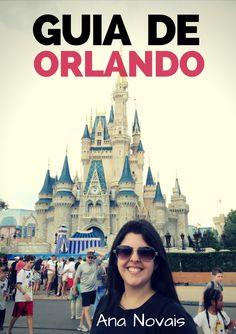 Mais completo guia digital para você organizar sua viagem para Orlando e curtir os parques da Disney e Universal - melhores épocas, como evitar as filas imensas, dicas de transporte, hospedagem, alimentação, Disney com crianças, guia dos personagens, passeios além dos parques e muito mais!