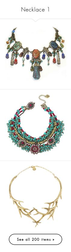 """""""Necklace 1"""" by kemp-jessica ❤ liked on Polyvore featuring jewelry, necklaces, glass bead jewelry, long beaded necklace, egyptian collar necklace, beaded pendant, hexagon pendant necklace, boho, accessories and collane"""