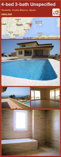 4-bed 3-bath Unspecified in Teulada, Costa Blanca, Spain ►€900,000 #PropertyForSaleInSpain