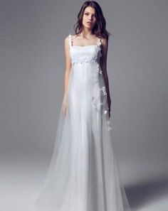 2014 floral wedding dress