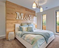 Image result for wardrobe behind bedhead floor plan - so this is what it could look like with a wardrobe behind your bed.....front view