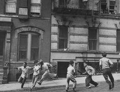 Old photographs of Harlem | Street Games, Spanish Harlem