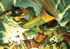 : Eddy Gordo, the capoeira fighter from Tekken series, and Blanka the feral savage from Street Fighter series. Eddy Gordo, Tekken 1, Fighting Games, Illustrations And Posters, Street Fighter, Game Art, Comic Books, Deviantart, Artwork