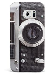 Vintage Camera Photography Case for Galaxy S6