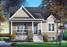 Elevation of Craftsman   House Plan 49504