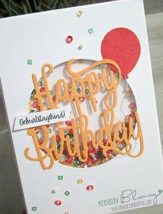 Kreativ Blog by Claudi: Happy Birthday