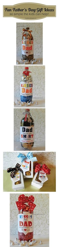 It's Written on the Wall: Fathers Day Gift Ideas For the Kids to Give to Dad-Super Simple #FathersDay