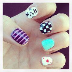 Alice in Wonderland nails!