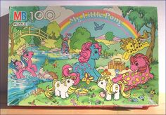 My Little Pony Twice-as-FancyPony  picnic puzzle 100 pieces ...