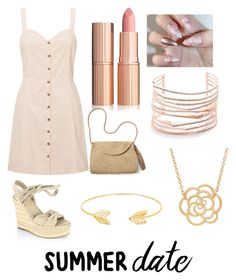 """""""the perfect date"""" by laylaurena ❤ liked on Polyvore featuring Miss Selfridge, Kendall + Kylie, Mar y Sol, Lord & Taylor and Alexis Bittar"""