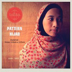 Fruity Brown - square #hijab