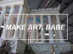 Make art babe Disney Instagram, Instagram Girls, Astrology Tumblr, Rachel Elizabeth Dare, Mystic Girls, Hipster Blog, Make Art, How To Make, Diy Art