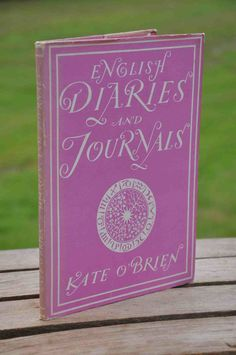 Book: English Diaries and Journals by Kate by MrsandMisscurio
