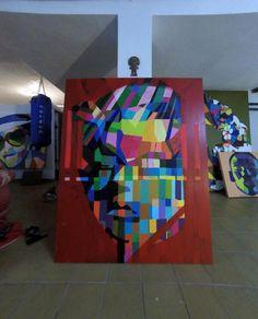 #equilibrial #equilibrium #TheWire #painting #camvas