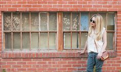 Tomboy KC // Street Style // Lynsey Eaton //Equipment Hawaiian Shirt // James Perse Pants // Retrosuperfuture Sunglasses // Vintage Handbag // Jada Jewellery Bracelets // Monica Vinader Bracelet and Rings